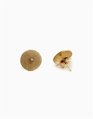 Stud Gold Earrings